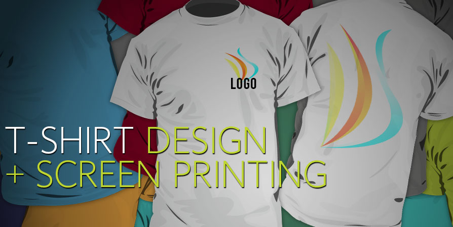 Screen printing silk screen company shirts team for T shirt designing and printing